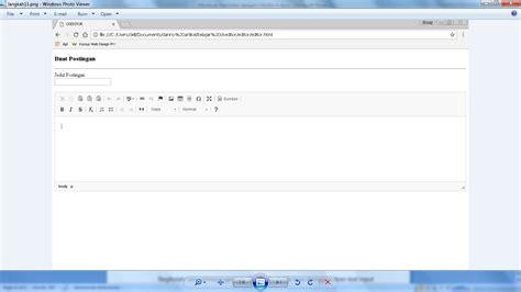 membuat blog sekolah dengan wordpress membuat text editor dengan ckeditor 4 webhozz blog