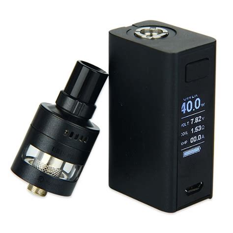 Evic Basic With Cubis Pro Mini Black Mod Vape Vaping Vapor 1 joyetech evic basic cubis pro mini kit 1500mah e