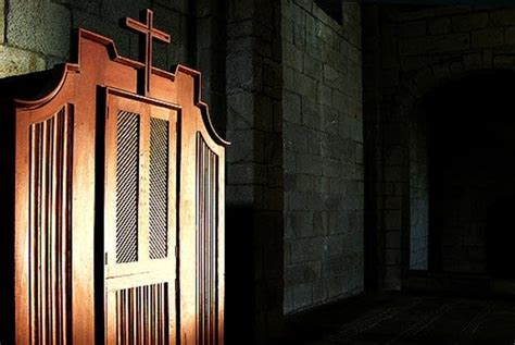 Confession Room by Is There Still A Place For Catholic Confession