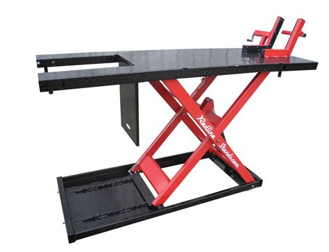 redline 2200hd motorcycle atv lift table free shipping