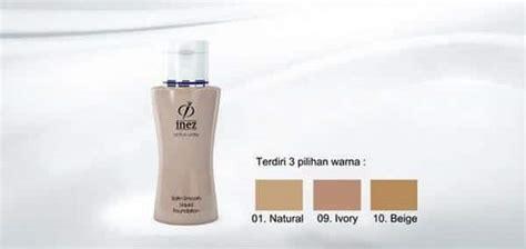 Harga Foundation Inez Satin 10 merk foundation untuk kulit kering agar tetap lembab