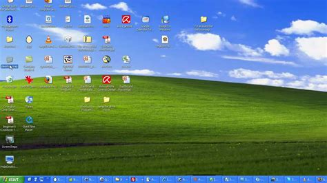 themes for computer desktop windows xp how to hide your desktop icons on xp and vista youtube
