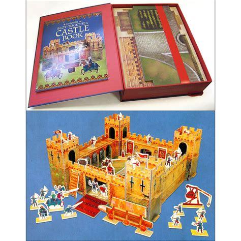 Usborne Slot Together Castle usborne slot together castle with book babyonline