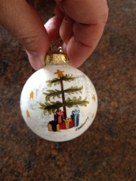 christmas tree ornament tole painting crafts i have
