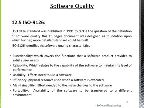 software design quality guidelines software quality