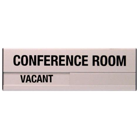conference room signs conference room slider plate door sign 3 5 x 10 bc site service