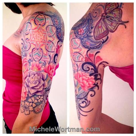 paisley tattoo sleeve 16 best sleeves paisley design for images on