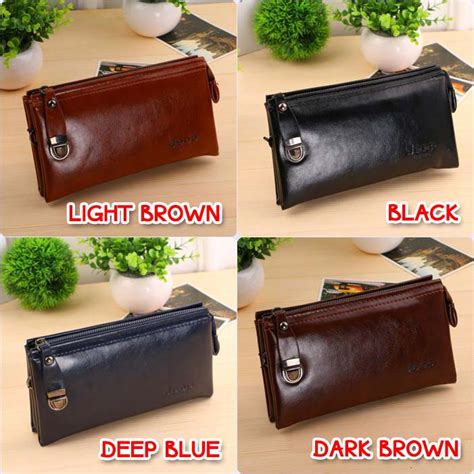 Wsn6 Clutch Bag Handbag Pria Wanita Tas Tangan Pria Import Lenox 1 jual dompet tangan jeep handbag kulit pria wanita tas