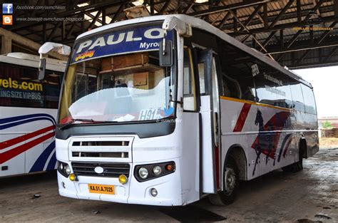 Paulo Travels Sleeper by Paulo Ac Sleeper Ka51 A 7025 Biswajit Svm Chaser