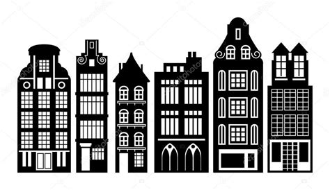 house line drawing images stock photos vectors shutterstock old holland houses stock vector 169 fla 31970289