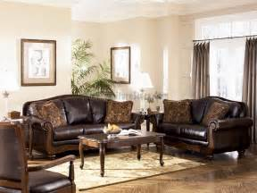 barcelona antique living room set signature design by