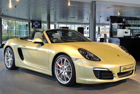 Porsche Boxster Preis by 2013 Porsche Boxster Uk Price