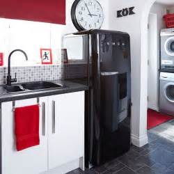 Red And Black Kitchen Accessories Black Red And White Kitchen Decorating Housetohome Co Uk