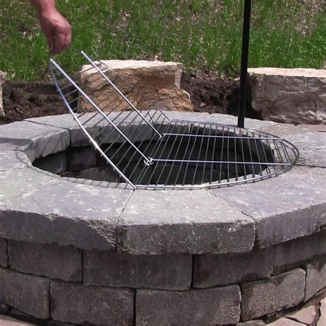 Large Firepit Pit Cooking Grates Large Pit Design Ideas