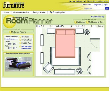 interactive  room planner  furniturecom helps