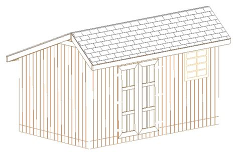 12x20 Storage Shed Plans by Scole 10 X 12 Gambrel Shed Plans 6x10 Cargo