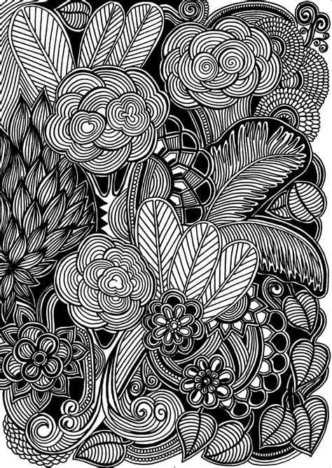 black pen doodles 170 best images about and painted flowers