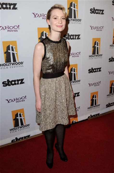Elles 14th Annual In Carpet by Wasikowska In 14th Annual Awards Gala