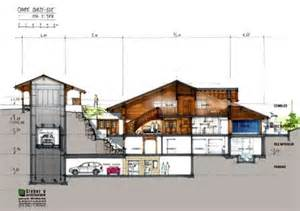 Basement Apartment Plans An Off Plan Luxury Chalet For Sale In Rougemont Gstaad