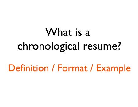 chronological resume 10 free word pdf documents download