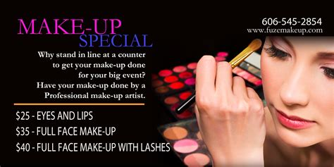 makeup artist flyers templates makeup artist flyer images