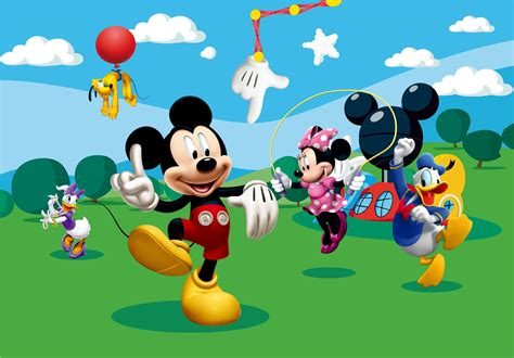 mickey club house mickey mouse clubhouse wallpaper