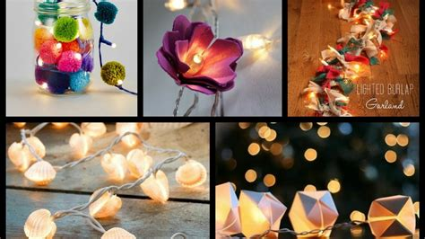 String Ideas - best diy string lights ideas lighted garland tutorial