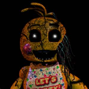 Five nights at freddy s shattered toy chica by goldennexus on