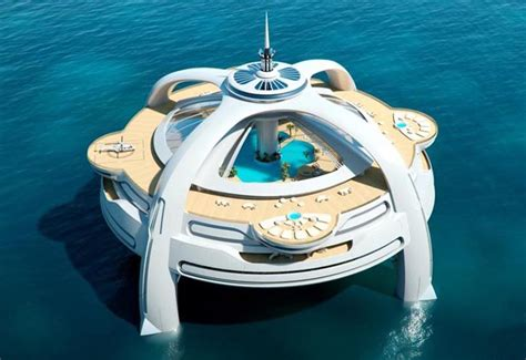 yacht island design project utopia a floating island paradise at sea