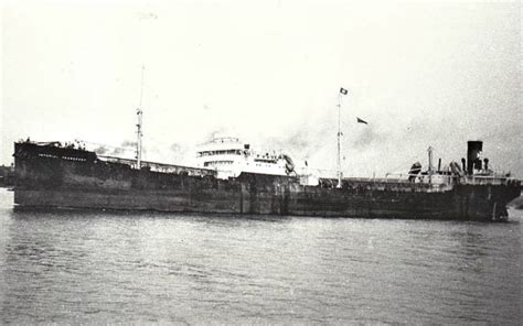 boat transport hshire imperial transport british motor tanker ships hit by