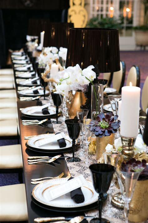black and white table setting what is the per guest cost for this table by nancy liu