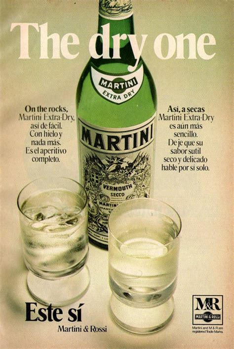 martini and rossi ad martini rossi ad from 1973 venezuelan vintage ads