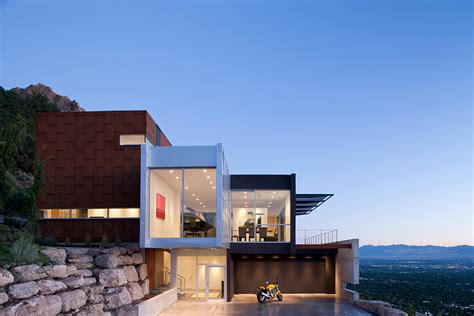 east bench salt lake city h house salt lake city by axis architects