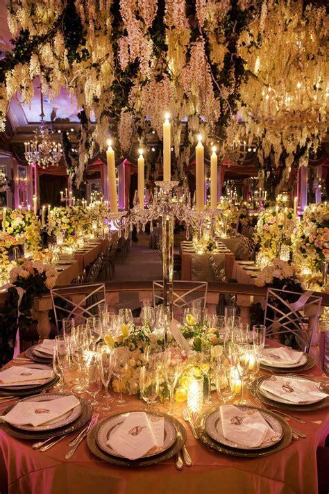Glamorous Indoor Garden Wedding in New York City   My