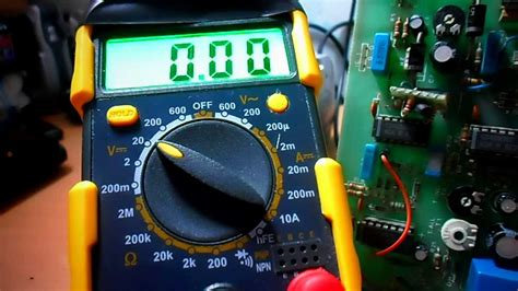 test su guida come misurare la resistenza con il tester