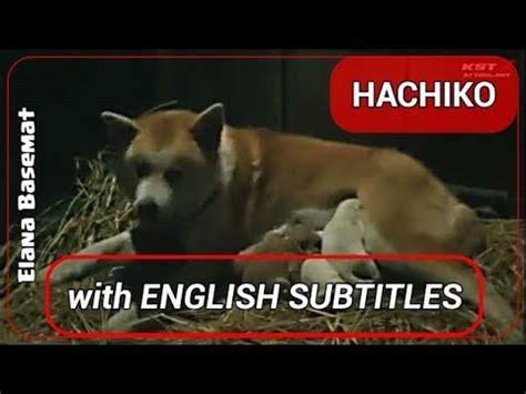 subtitle film hachiko indonesia hachiko monogatari 1987 film 1 11 quot japanese version