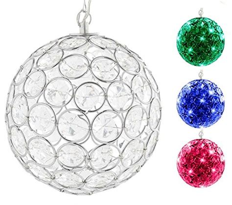 solar power hanging christmas balls the 20 best solar lights ideal for decorations sre