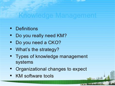 Do You Really Need An Mba by Knowledge Management Ppt Bec Doms Bagalkot Mba 4 Th Sem