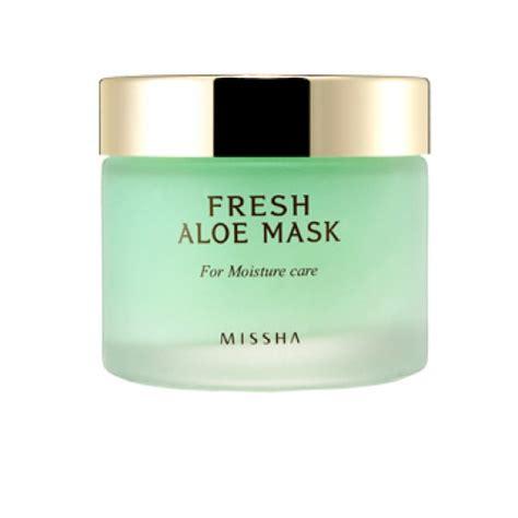 Missha Aloe missha fresh aloe mask