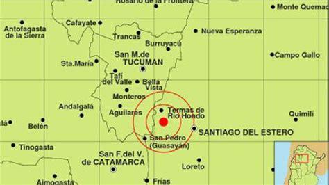 diario santiago estero dos sismos hicieron temblar a santiago estero diario