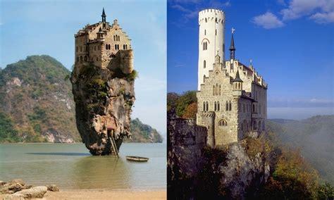 castle house island dublin ireland l an irish castle in dublin r german lichenenensttein castle part of the castle has been