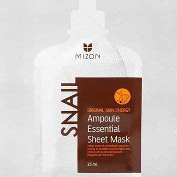 Domesky Essential Mask Sheet mizon oule essential sheet mask snail reviews photo makeupalley