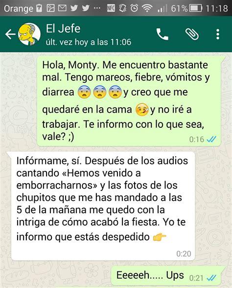 imagenes whatsapp jefe 15 conversaciones de whatsapp que no deber 237 as tener con tu