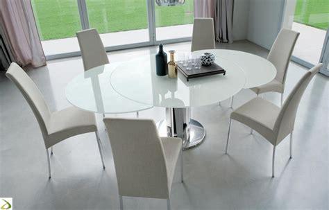 tavolo tondo design tavolo rotondo allungabile giro arredo design
