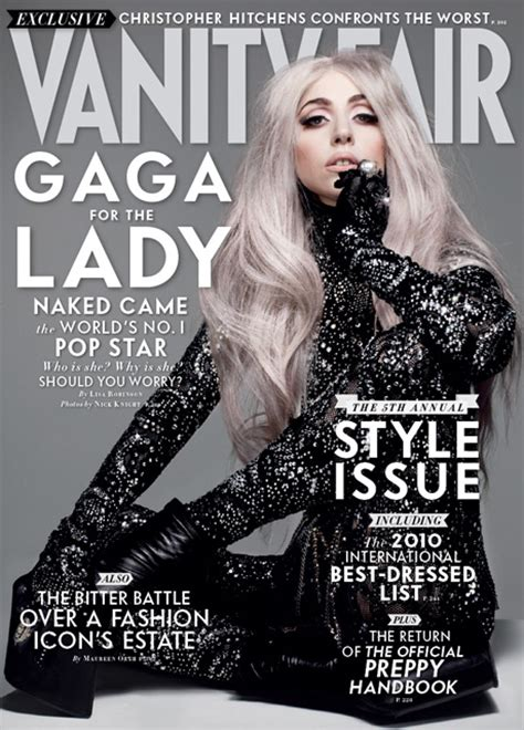 Vanity Fair Change Of Address by Unseen Vanity Fair Gaga Covers Gaga Fan