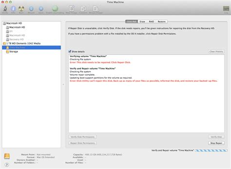 format hard drive mac couldn t unmount disk disk utility unable to mount time machine partition
