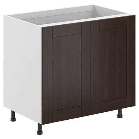 reno depot kitchen cabinets kitchen cabinet with 2 doors quot caravelle quot 36 quot r 233 no d 233 p 244 t
