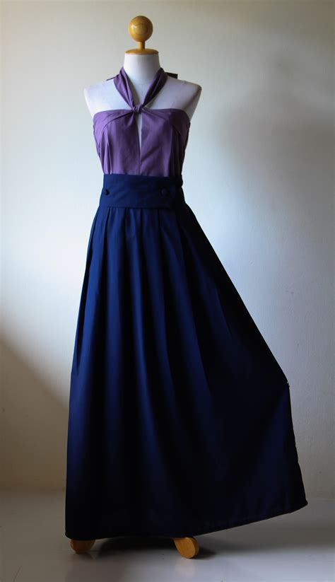 R Dress Aliza Navy Berkualitas navy blue and purple bridesmaid dresses
