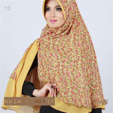 Jilbab Pet Bergo Alisia Motif Oneto jilbab oneto parade khimar motif supplier jilbab branded