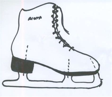 182 Best Ice Skating Party Images On Pinterest Ice Skating Party Anniversary Ideas And Bauer Skate Sizing Template
